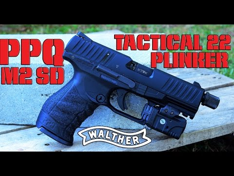 Walther PPQ 22 Review - Guns com - YouTube