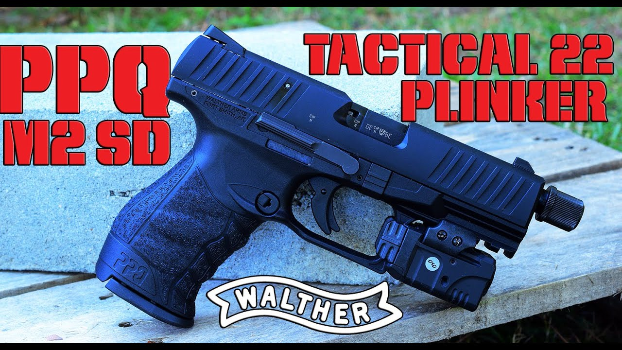 Tired of unreliable  22 pistols? Grab a Walther PPQ M2 SD 22