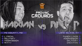 HAIXIAN VS MIKE P PROVING GROUNDS RAP BATTLE