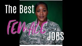 The Best FEMALE Jobs in the ARMY| Army MOS for Females