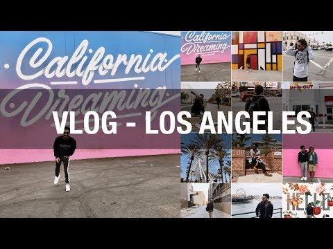 TRAVEL VLOG - LOS ANGELES CALIFORNIA - LUISFER DELGADO