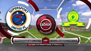 Absa Premiership | SuperSport United v Mamelodi Sundowns | Highlights