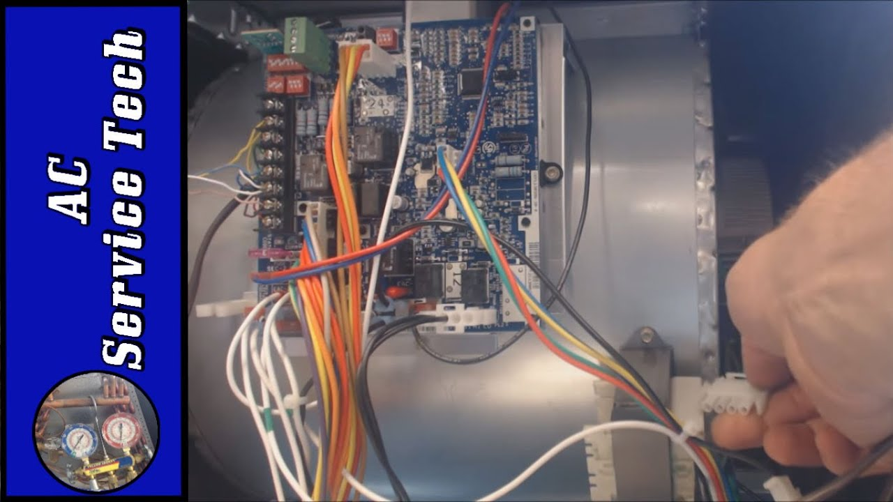 furnace blower relay diagram wiring furnace blower how to troubleshoot a variable speed blower fan motor
