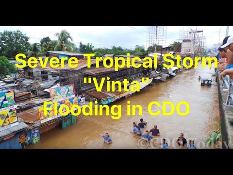 Severe Tropical Storm Vinta Flooding in Cagayan de Oro City