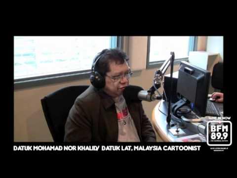 Breakfast Grille - Datuk Lat, Malaysian Cartoonist