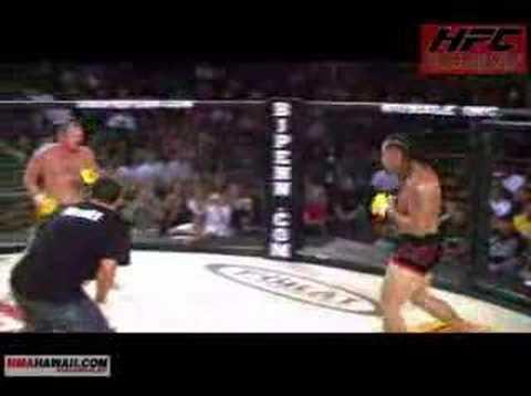 MMA Hawaii.com Eddie Edwards Vs. Kalani Gonsalves @ HFC Maui