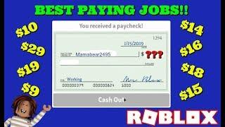Che tutti i posti di lavoro pagano a Bloxburg! scioccante!!! - Bloxburg - Roblox