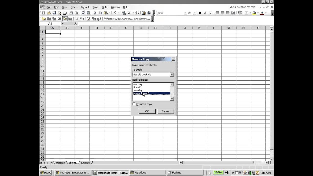 worksheet Insert A New Worksheet In Excel excel 2003 adding deleting or changing worksheet tabs youtube tabs