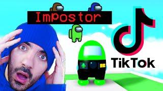 ESCAPA de TikTok y Among Us en ROBLOX
