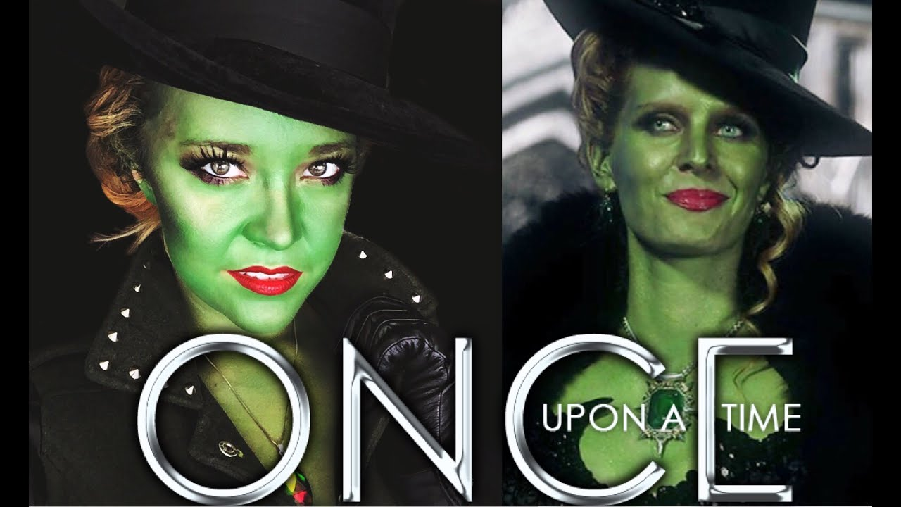 zelena makeup tutorial once upon a time villain