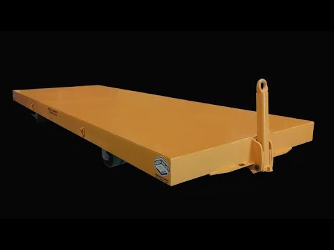 Titan 163610 40,000 LB Caster Steer Trailer