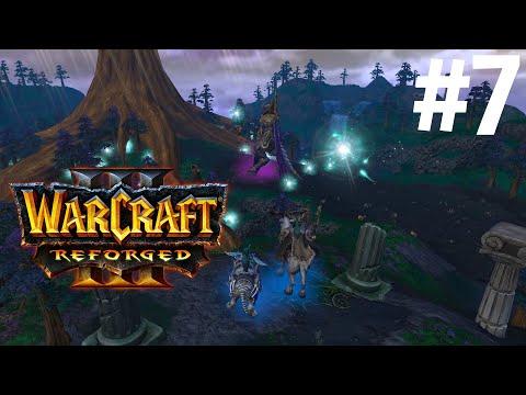 СУМЕРКИ БОГОВ! - ПОСЛЕДНЯЯ БИТВА!  - КАМПАНИЯ НОЧНЫХ ЭЛЬФОВ! - ПРОХОЖДЕНИЕ Warcraft III: Reforged #7