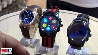 IFA 2017 Berlin: обзор умных гибридных часов MyKronoz ZeTime