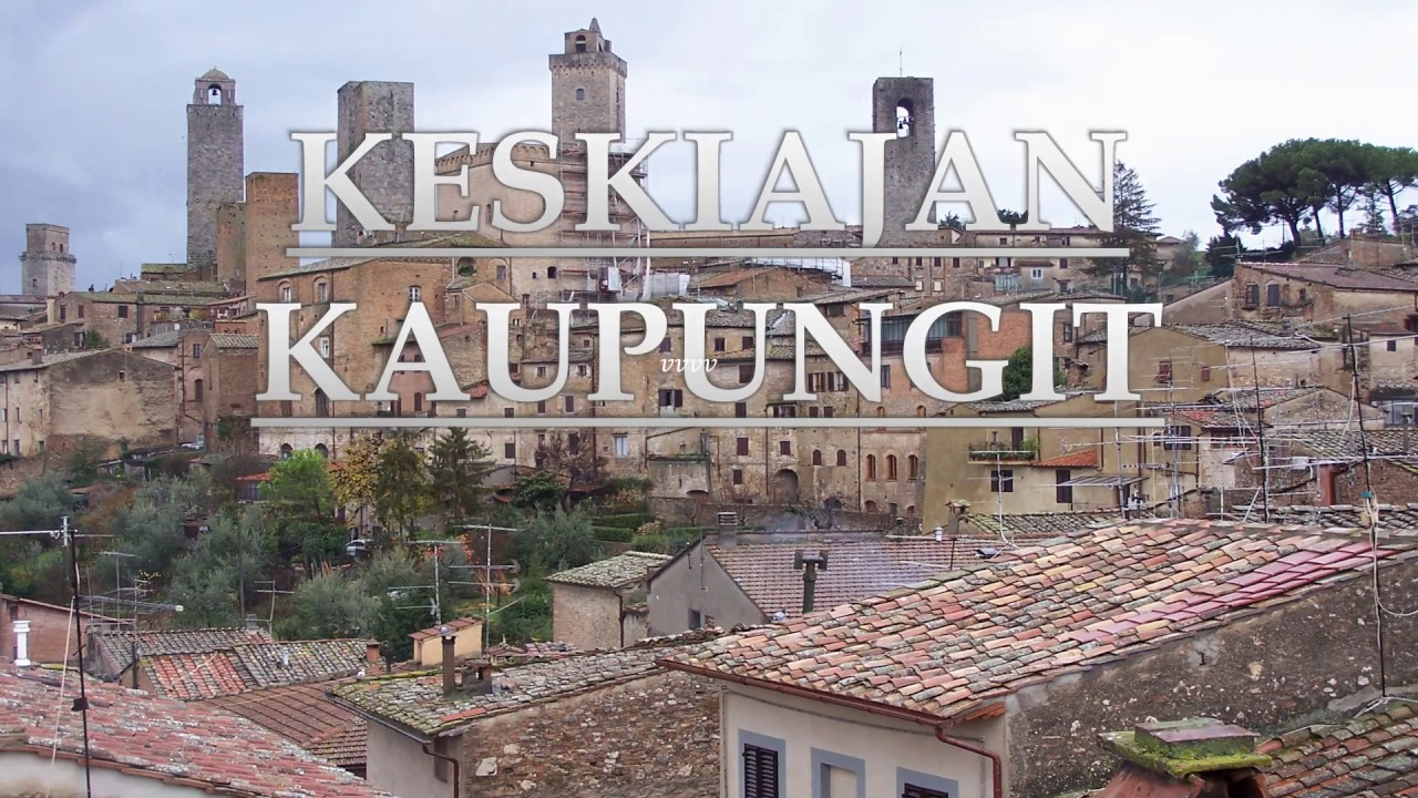Keskiajan Kaupungit