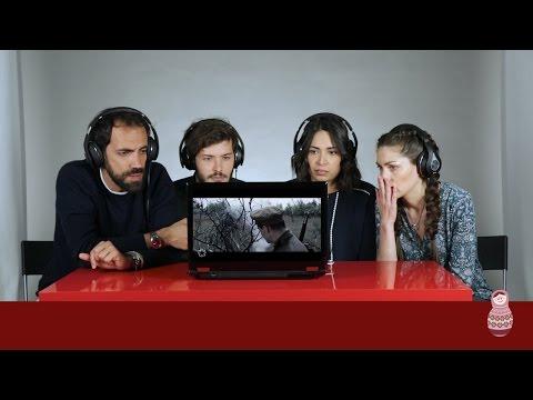 Итальянцы смотрят клип \