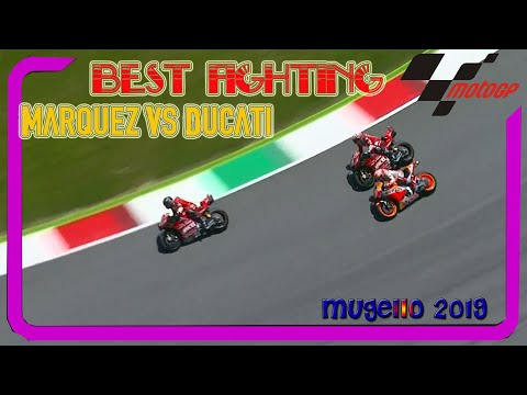 MARQUEZ  Vs DUCATI Team at Italia MotoGP 2019 Mugello Full race highlight