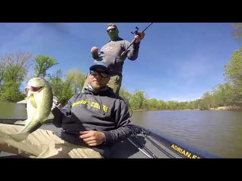Adrian College's winning day on Pickwick
