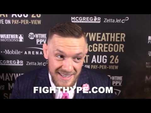 "Thumbnail: CONOR MCGREGOR ON FIRE TALKING ABOUT SAVAGE GAME PLAN: ""I'M GONNA MAUL HIM...THERE'S FEAR IN HIM"""