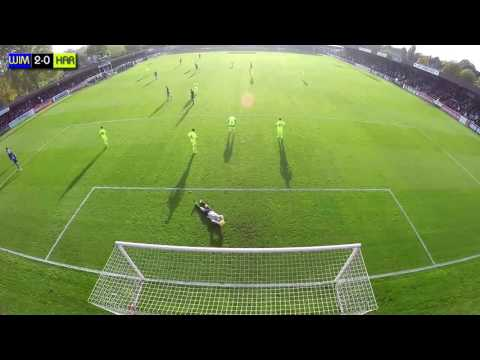 Lyle Taylor's favourite AFC Wimbledon goal so far