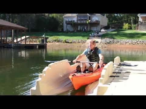 EZ Dock: EZ Kayak Launch