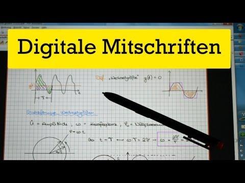 Digitale Mitschriften im Studium - Laptop Tablet und Co.