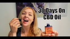 How My Body Reacted To Taking CBD Oil For 30 days
