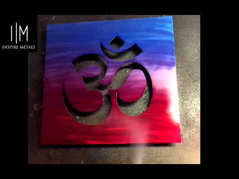 Color Blending Technique | 3D Metal Wall Art | Inspire Metals