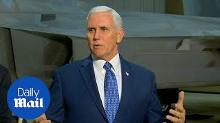 Mike Pence talks on North Korea ahead of Olympics visit - Daily Mail