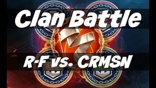 World of Warships - Clan Battles Season Five - R-F vs. CRMSN