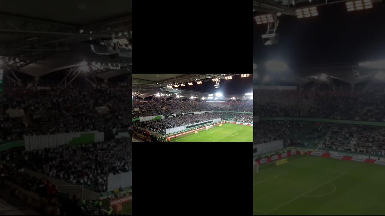 Legia vs Śląsk Wrocław sen o warszawie