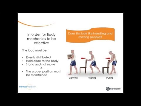 Safe Patient Handling and Mobility Basics
