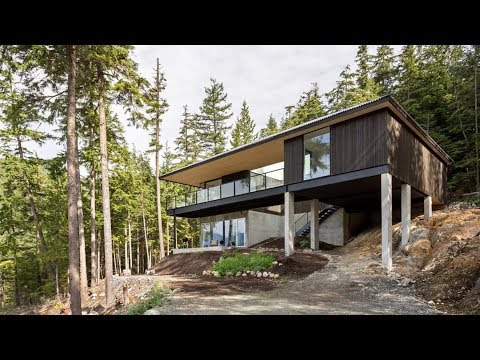 """Hunter Office Architecture uses Hindu """"science of architecture"""" to arrange British Columbia house"""