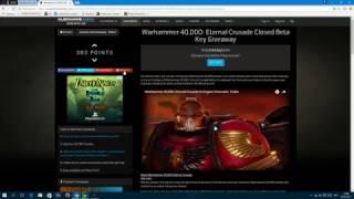 ХАЛЯВНЫЕ КЛЮЧИКИ!!! Warhammer 40,000: Eternal Crusade