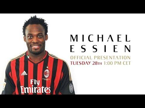 AC Milan | Michael Essien - Official Presentation/Presentazione ufficiale