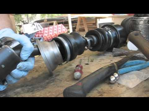 Mercedes 300D Axle Assembly