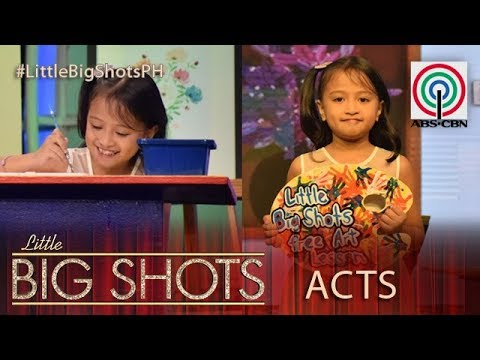Little Big Shots Philippines: Chek | 8-year-old Kiddie Painter
