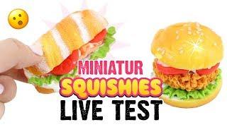 5€ SQUISHY Bastelset im LIVE TEST! Miniatur SQUISHIES selber basteln!