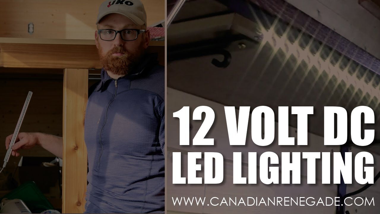 12v Dc Led Lighting System Off Grid