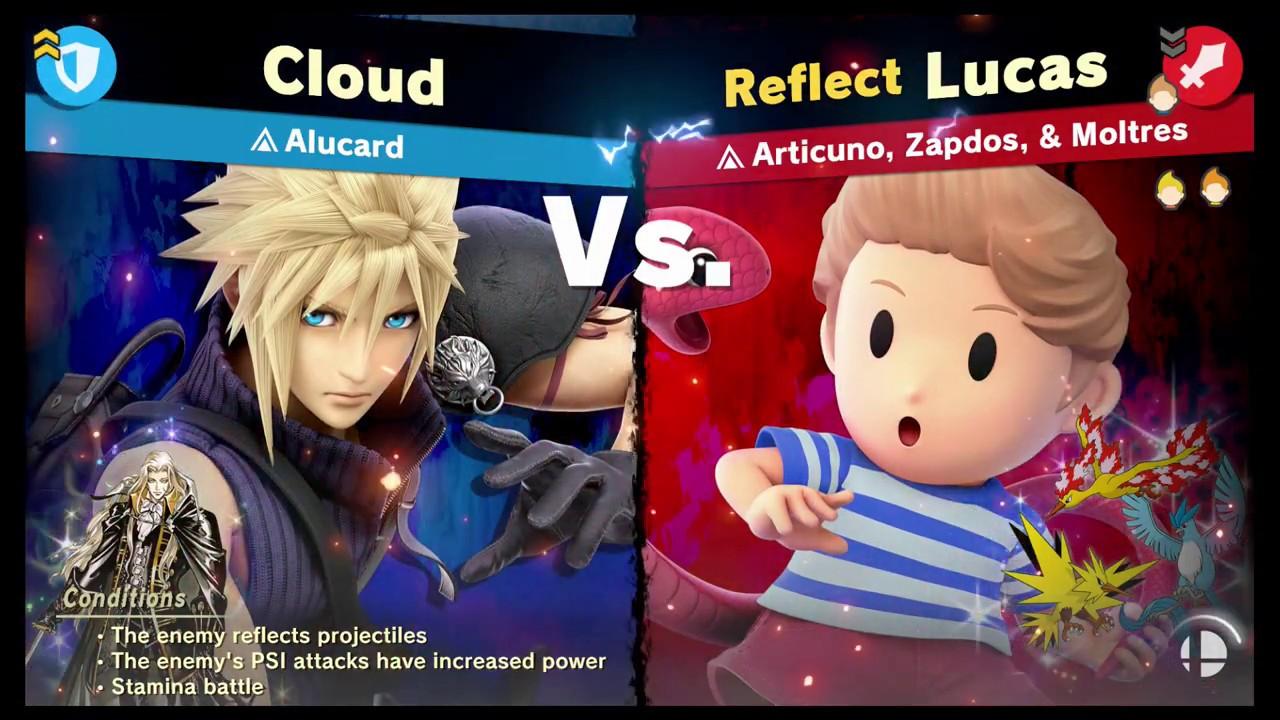 Super Smash Bros Ultimate - [Legend Spirit] Articuno, Zapdos, & Moltres