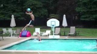 Amazing Pool Basketball Dunks 3