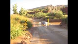 Bridgeless River Crossing Highways in Palo Duro Canyon