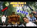 [VLOG] Summer Japan Trip 2015, Day 6 & 7 // Hakone & Kyoto
