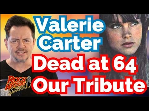 Singer Valerie Carter Dead at 64: Check Out the Many Great LP's She Sang On Our Tribute