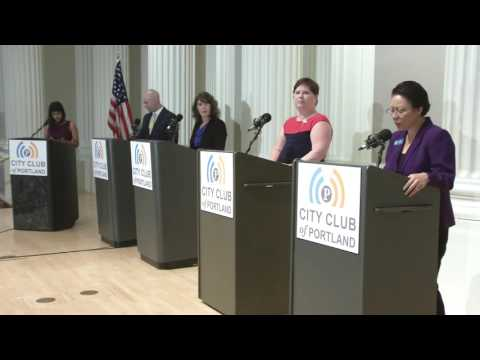 Friday Forum: Multnomah County Commission Debate