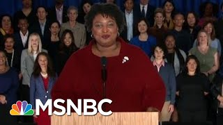 Stacey Abrams' Political Clout A Wild Card As Joe Biden Seeks Boost | Rachel Maddow | MSNBC