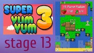 Super Yum Yum 3 world 2 stage 13 - gameplay