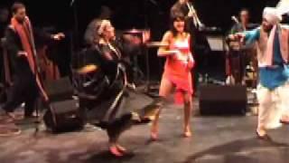 Cevanne - Compilation Live Shows Terpsikorie Bhangra Latina Dark Garden