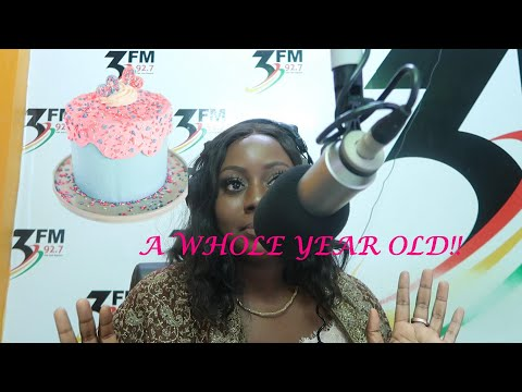 MY RADIO SHOW IS A YEAR OLD ! | Accra Diaries 41