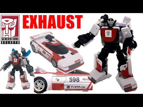 Generations Selects WFC-GS11 Exhaust Review, Larkin's Lair
