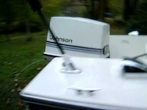 70hp johnson outboard 1984 youtube rh youtube com 90 HP Johnson Outboard Motor 1979 70 HP Johnson Outboard Trim and Tilt
